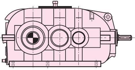 Индустриальные коническо-цилиндрические редукторы