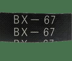 Клиновые ремни профилей AX, BX, CX