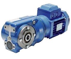 Цилиндрически-червячные мотор-редукторы серии С