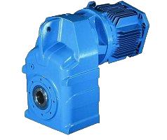 Мотор-редукторы цилиндрические с параллельными валами серия F
