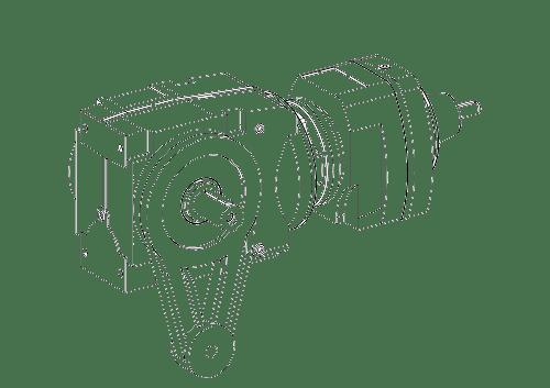 Цилиндрическо-червячные редукторы