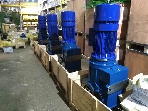Конически-цилиндрические мотор-редукторы