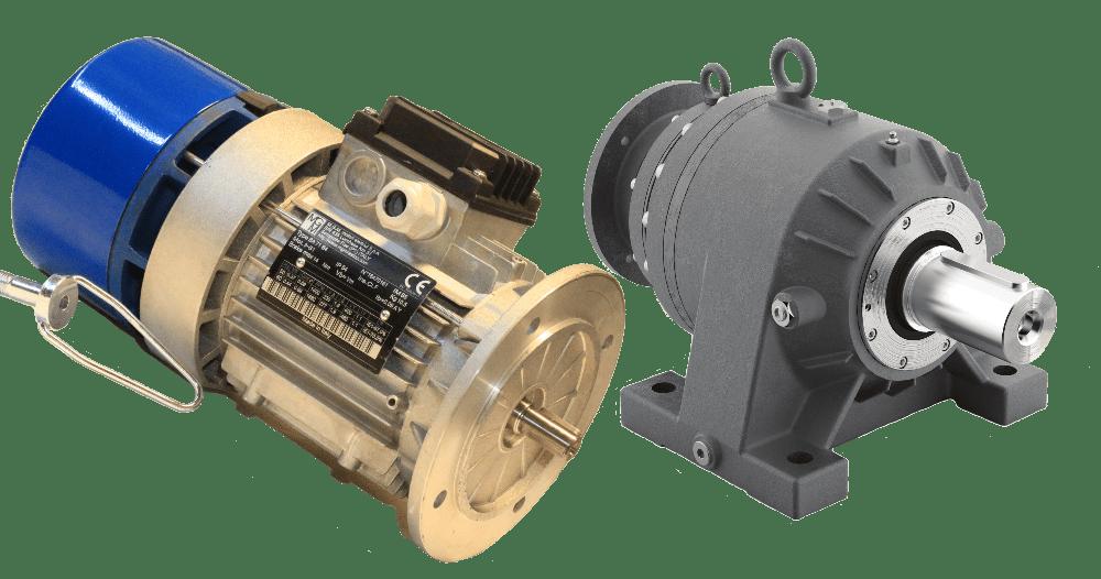 Планетарные мотор-редукторы