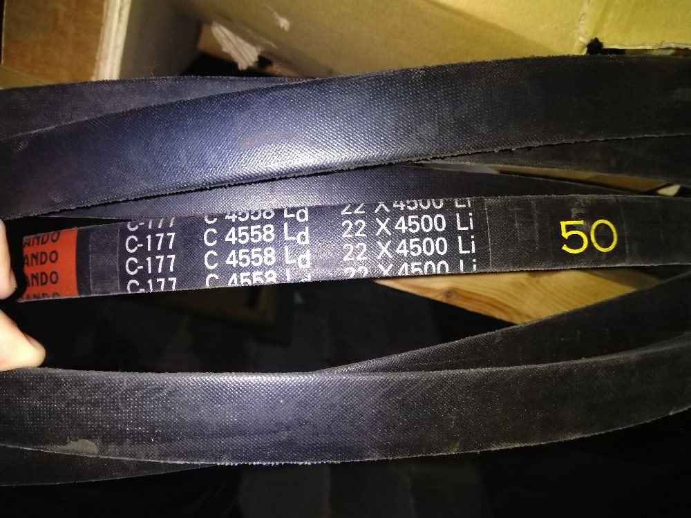 Шкив профиля SPC - используемые ремни