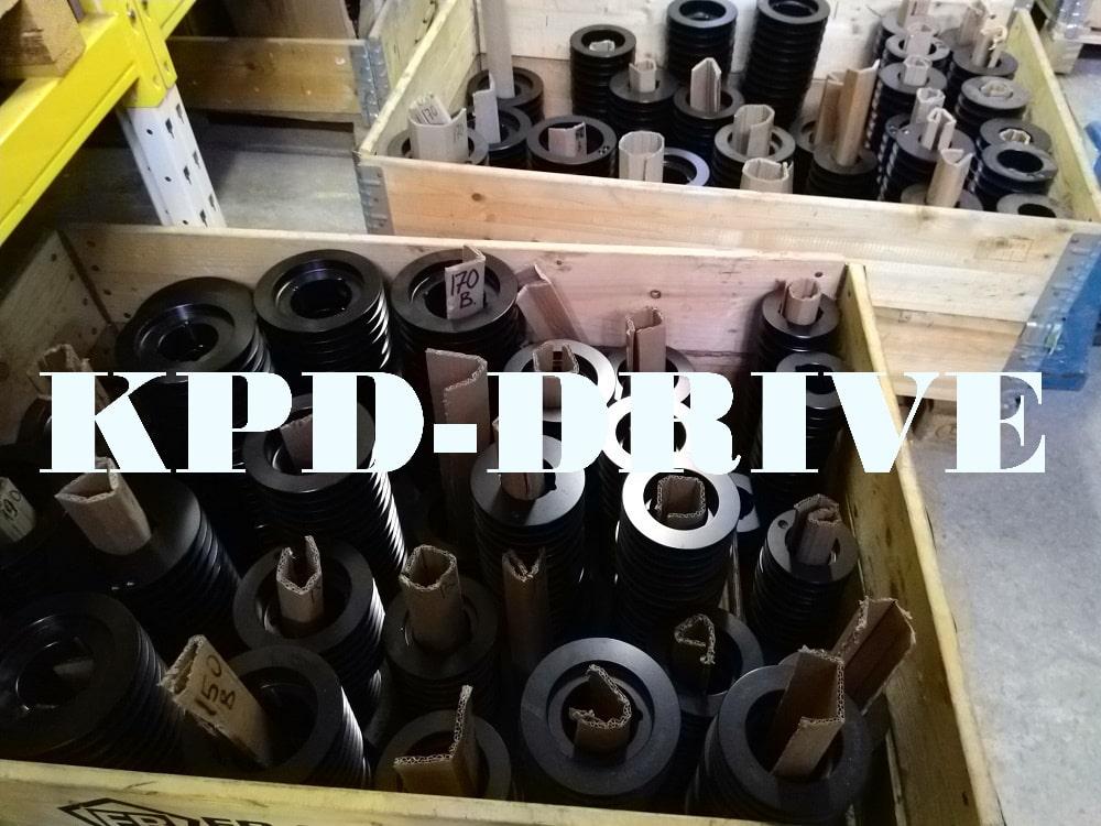 Шкивы SPB/3 в большом ассортименте со склада