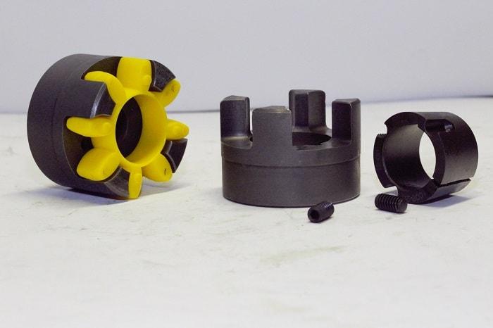 Упругая кулачковая муфта - компоненты