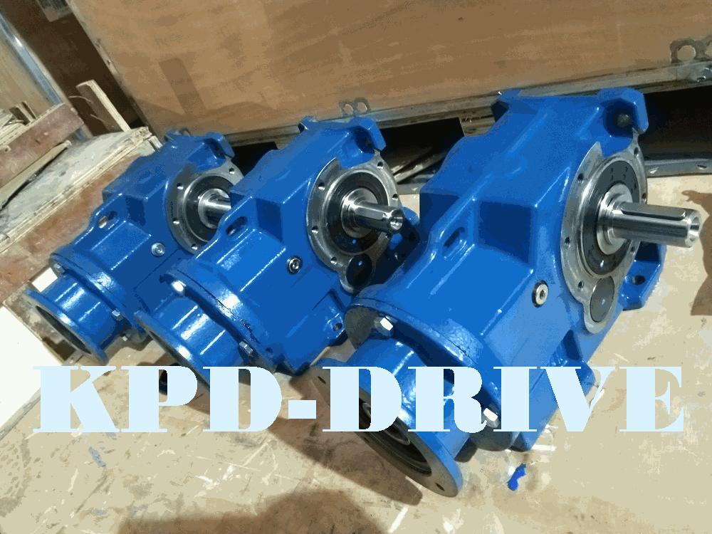 Цилиндрическо-конические мотор-редукторы