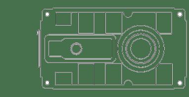 Промышленный редуктор с параллельными осями
