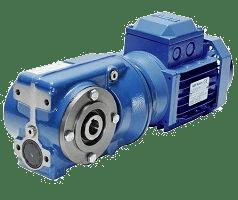 Цилиндрически-червячный мотор-редуктор