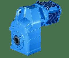 Цилиндрический плоский мотор-редуктор с параллельными валами